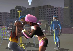 Download the urbz sims in the city PS2 For PC Full Version ZGASPC