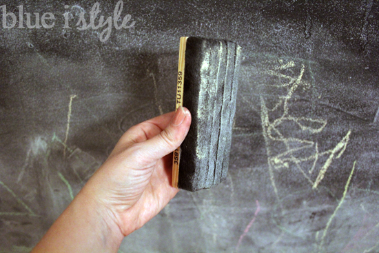 five minute friday how to get your chalkboard wall back to black