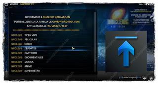 """Como Instalar o Add-on """"Nucleus TV"""" no KODI - Canais Latino, Espanha e Inglês"""