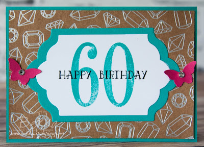 Special Sparkly 60th Birthday Card - get the details and the products here