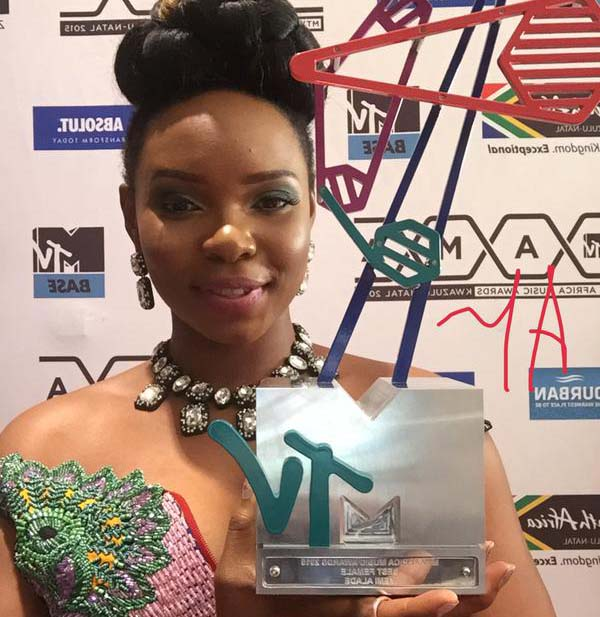 2016 MTV Africa Music Awards: Yemi Alade Wins Best Female
