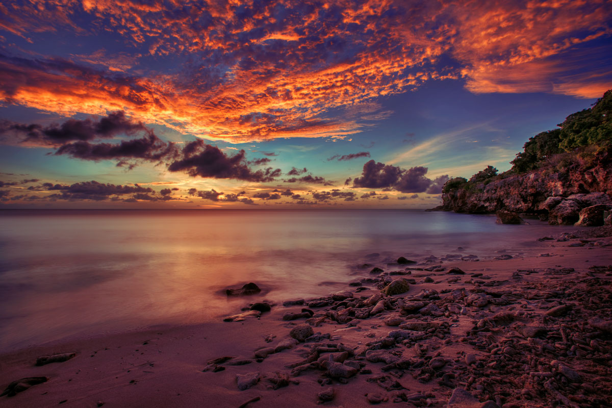 beach sunset beaches hdr sunsets ocean caribbean coast curacao amazing most kimo gorgeous beauty aruba stunning there during