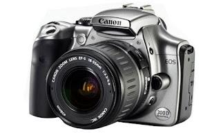 Harga dan Spesifikasi Kamera Canon EOS 300D