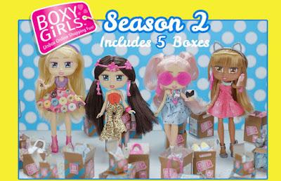Boxy Girls сезон 2