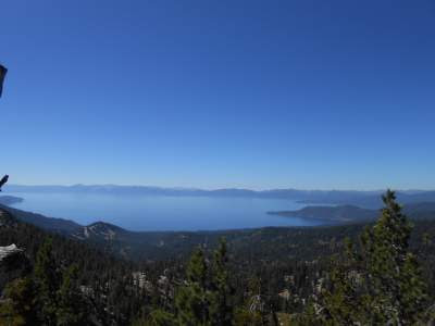 Lake Tahoe, sexual energy, spiritual awakening, mountains, hiking, trail