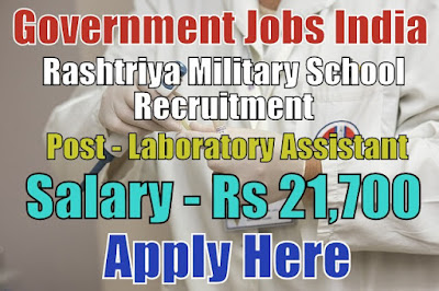 Rashtriya Military School Recruitment 2017 Belgaum