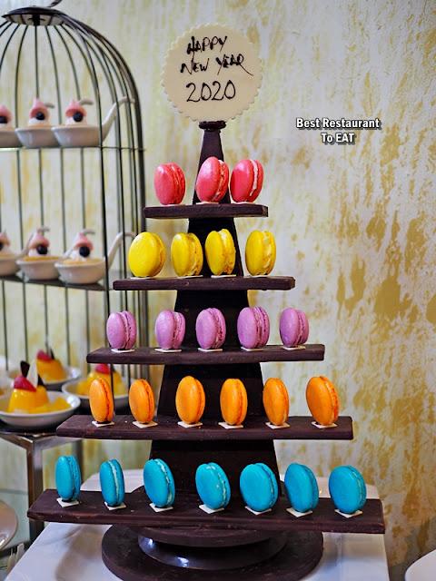 SHAH ALAM NEW YEAR 2020 HI TEA Menu - Macaroon Tower
