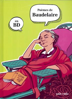 """couverture de """"Poèmes de Baudelaire en BD"""" Collectif chez Petit à Petit"""