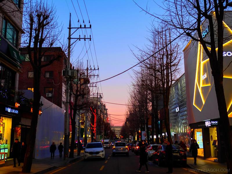 Garosugil cafe Seoul travel blog