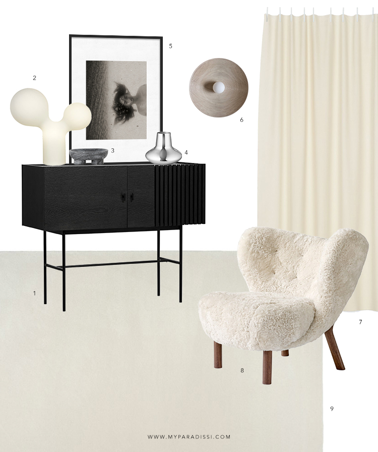 Interior Design Concept Board by Eleni Psyllaki for My Paradissi