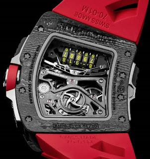 Calibre Richard Mille RM 70-01 Tourbillon Alain Prost ©Didier Gourdon