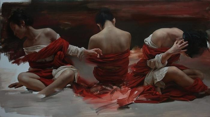 Реалистичные картины. Liu Yuanshou 3