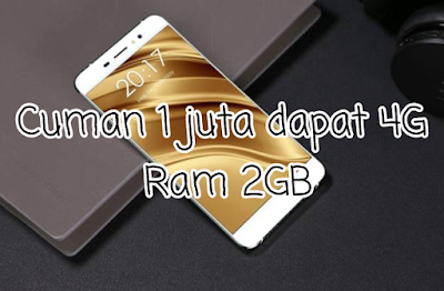 HP Kece 4G LTE Ini Bawa RAM 2GB