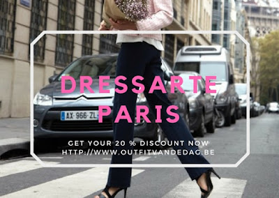 Discover DressarteParis and grab a generous 20 % discount
