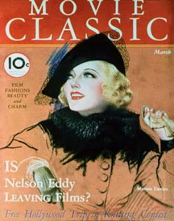 Marion Davies Magazine Cover