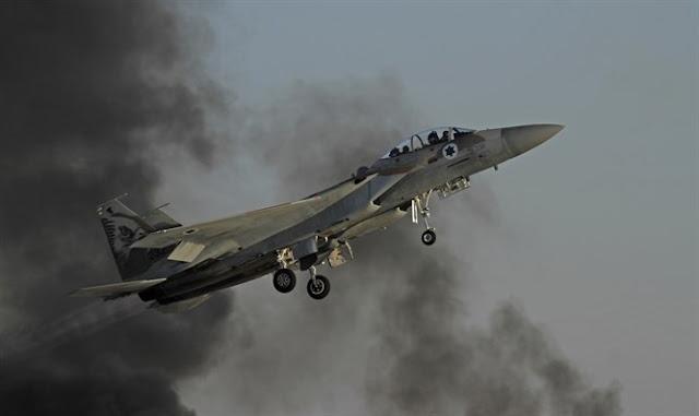 avión de combate F-15I IAF