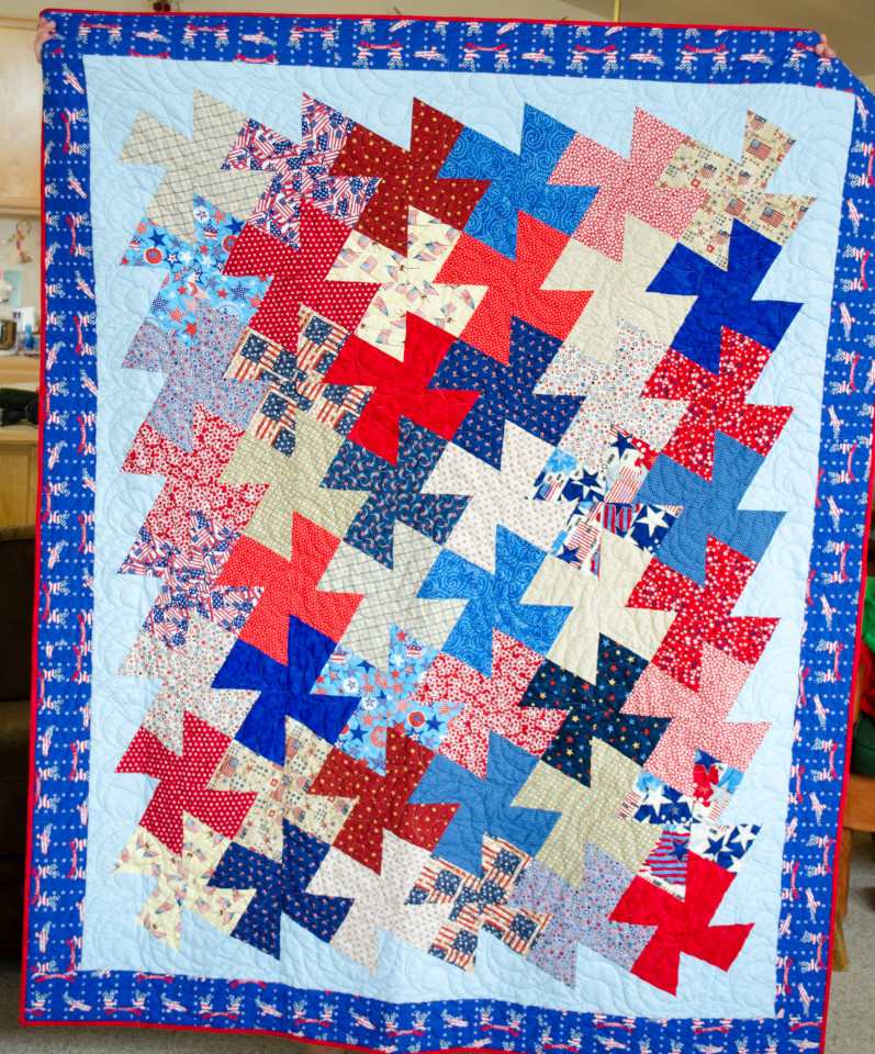 Amazing Quilts: Alycia Quilts: Quilts Of Valor