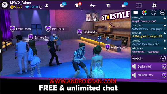 Free Download Avakin Life Mod Apk v1.014.00 (Unlimited Money) Android Terbaru 2017