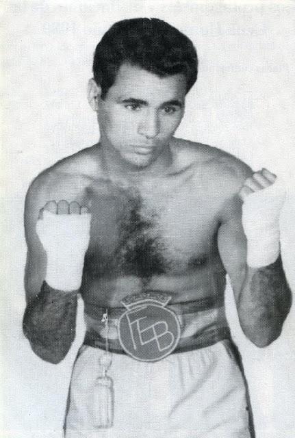 El boxeador sordo Kid Tano, Cayetano Ojeda Herrera