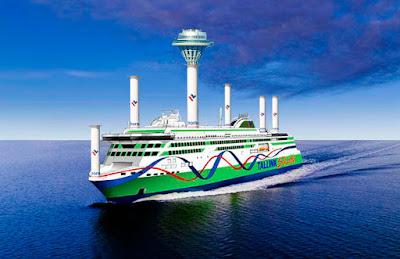 Tallink Gigastar, Tallink roottoripurje, aprilli