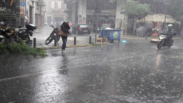 """Μεγάλα ύψη βροχής στην ανατολική και νότια χώρα έφερε η """"Χιόνη"""""""