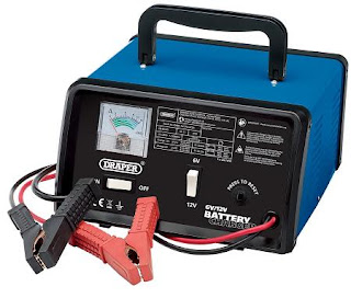 Draper 20486 Battery Charger 6 Volt 12 V 4.2 A