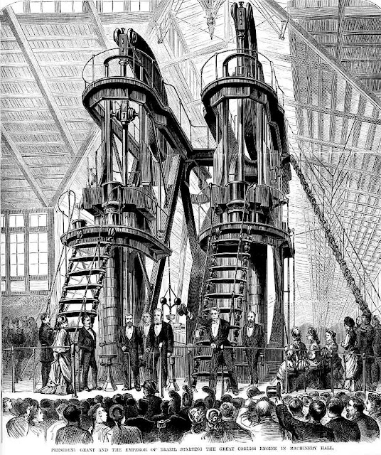Centennial Exhibition of 1876 Great Corliss Engine