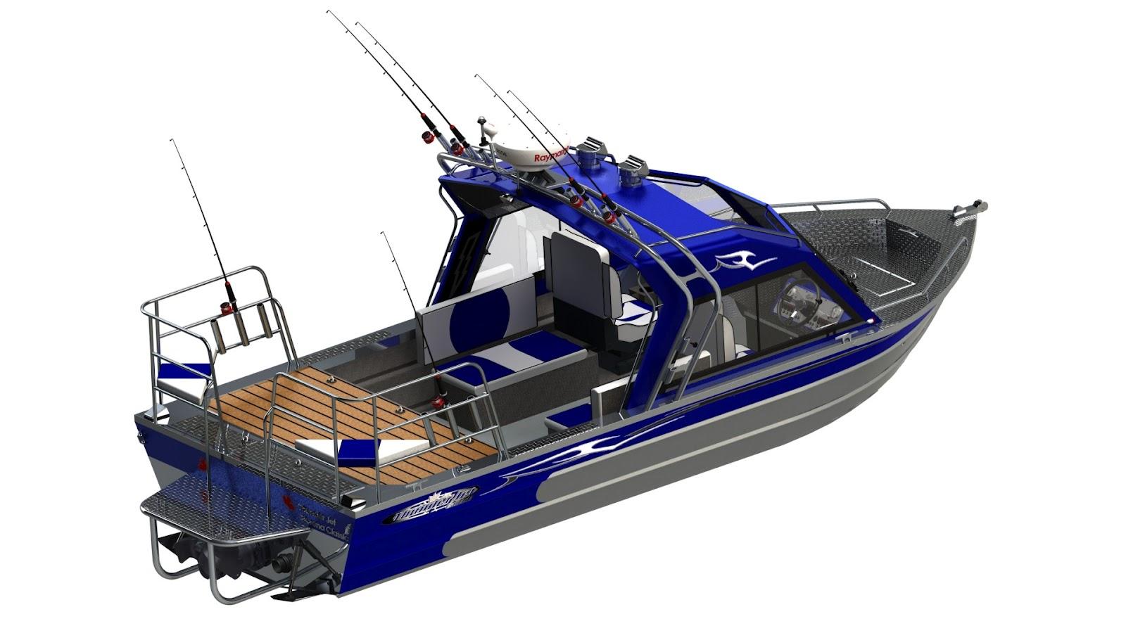 Thunderjet Boats: Thunder Jet's amazing SolidWorks renderings!