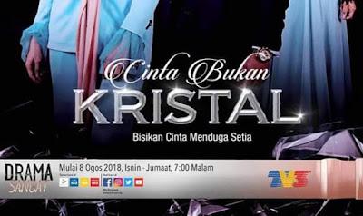 Pelakon Drama Cinta Bukan Kristal TV3