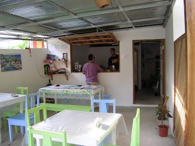 Comedor hotel Boutique Indalo, Puerto Viejo de Talamanca, Costa Rica, vuelta al mundo, round the world, La vuelta al mundo de Asun y Ricardo, mundoporlibre.com