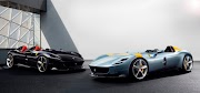 Ferrari takes the past with two new models to the future