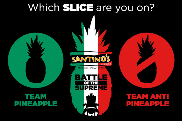 santinos pizza flavors