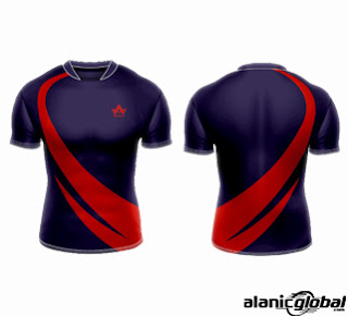 SLIM-FIT RUGBY JERSEY