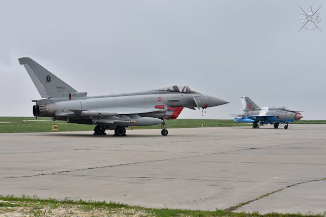 Italian Eurofighters Romania Full Operational Capability