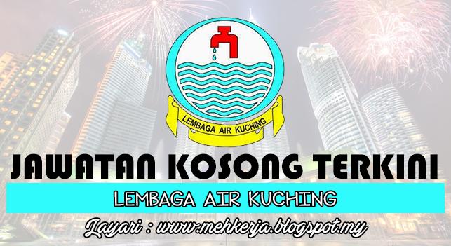 Jawatan Kosong Terkini 2016 di Lembaga Air Kuching