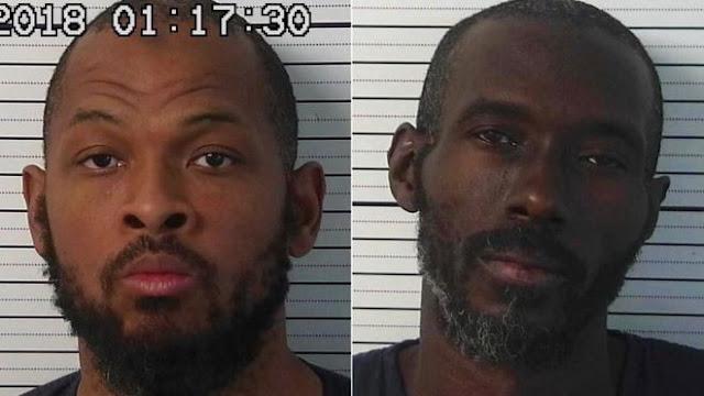 Сіраж ібн Вахадж та Лукас Мортон, яких поліція звинувачує у незаконному утриманні неповнолітніх дітей
