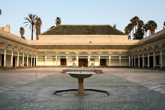 The Majorelle Garden :The Bahia Palace