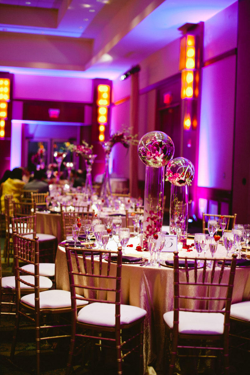 Gold Ideas for Purple Wedding Decorations | Robs Viva