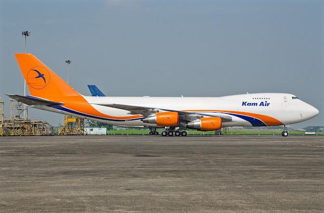 KAM Air Boeing 747-200 Freighter