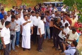 Mahinda Rajapaksa visited the Aranayake