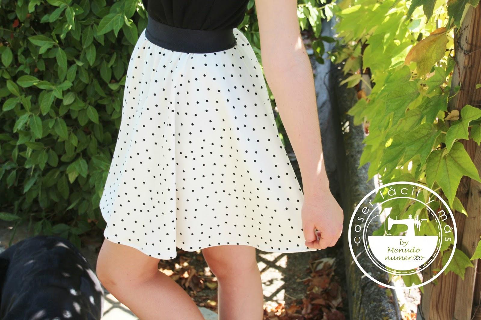 Cómo hacer una falda circular - El blog de Coser fácil y más by ...