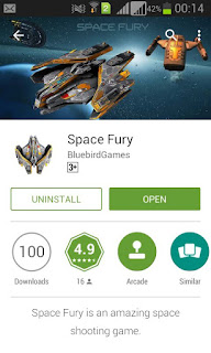 Space Fury - An amazing Space Shooter Game | Enggarena.net
