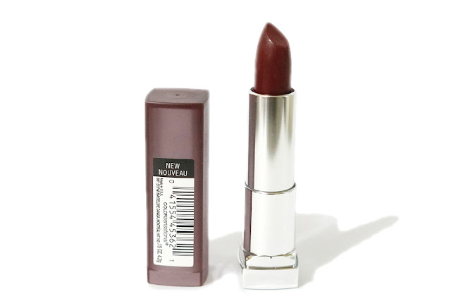 Maybelline Color Sensational Creamy Matte Lipstick in 696 Burgundy Blush