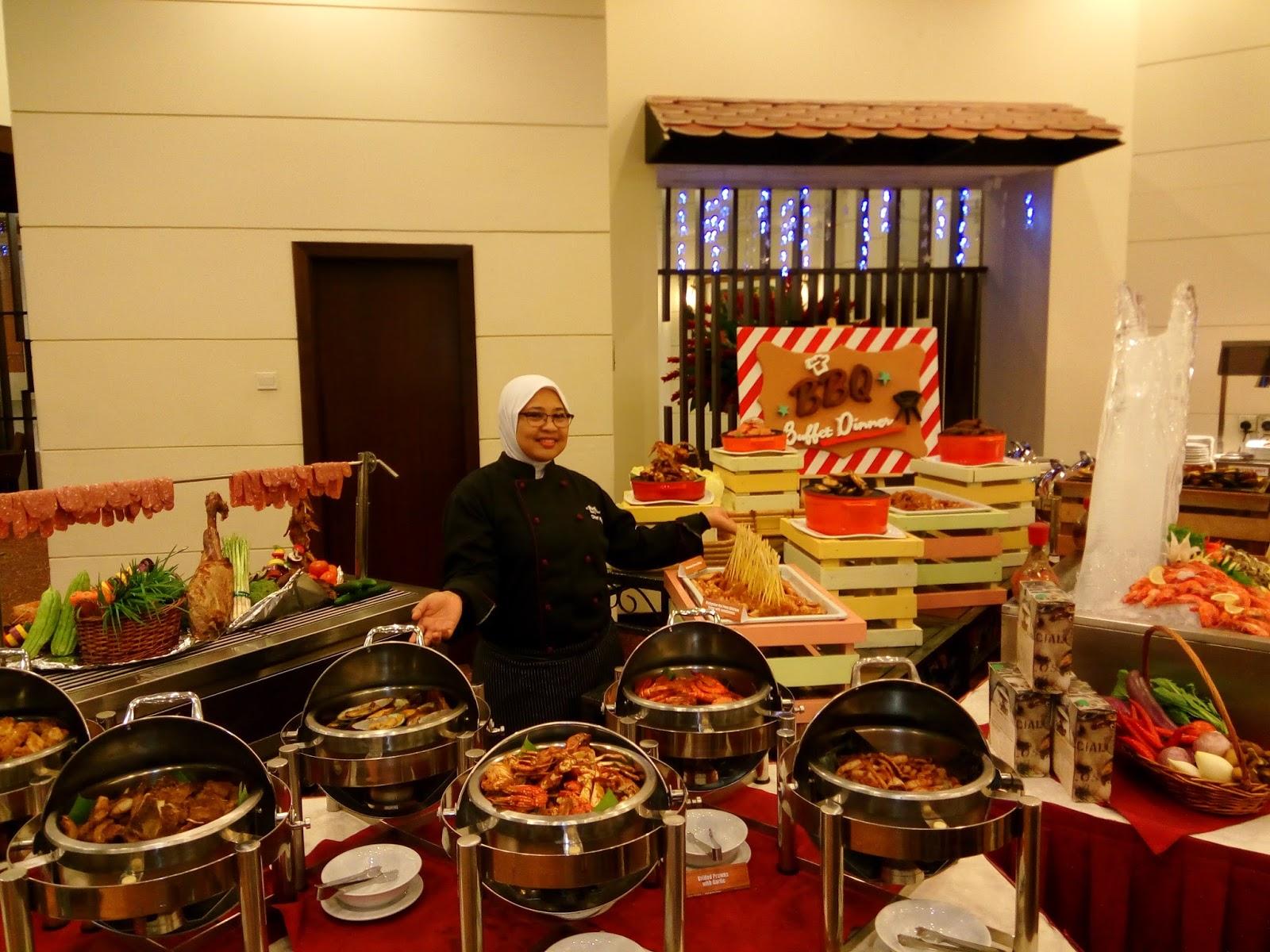 Bbq Buffet Dinner Di Royale Songket Restaurant