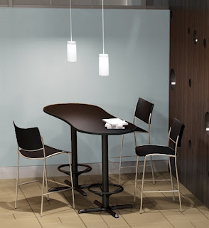 Bar Height Bistro Tables at OfficeFurnitureDeals.com