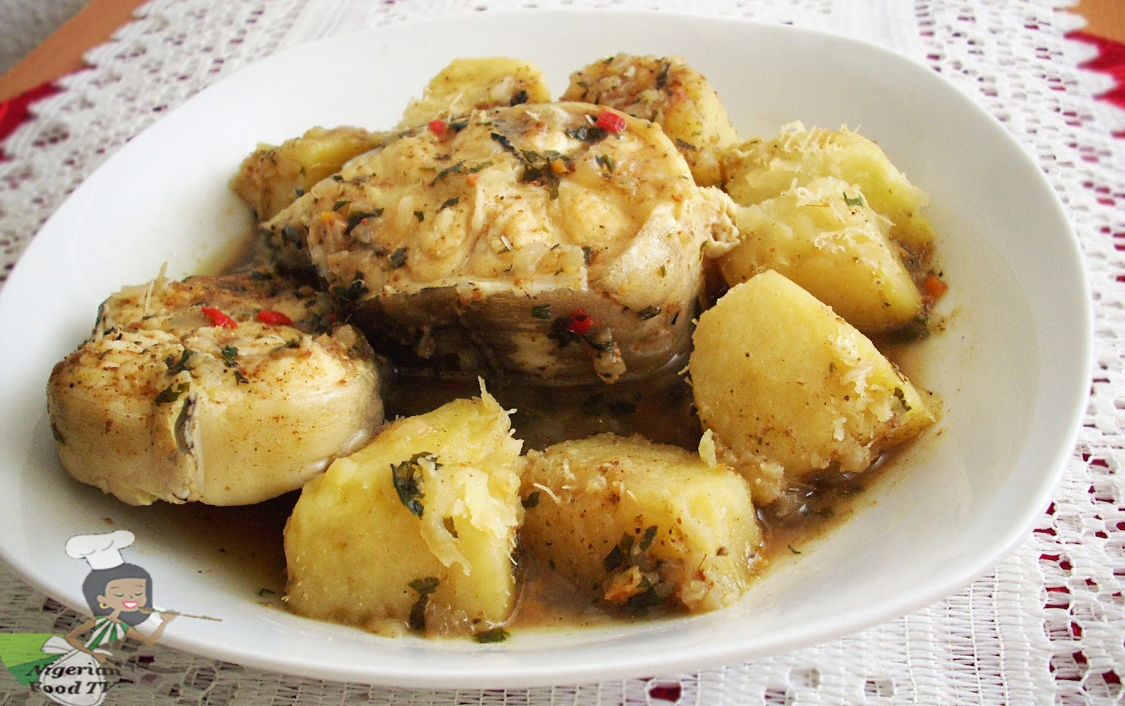 Yam swallow fufu recipes nigerian food recipes nigerian recipes nigerian foodyam and fish peppersoup forumfinder Image collections