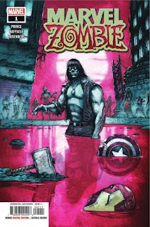 """Comic: Primeras páginas de la serie """"Marvel Zombie"""""""