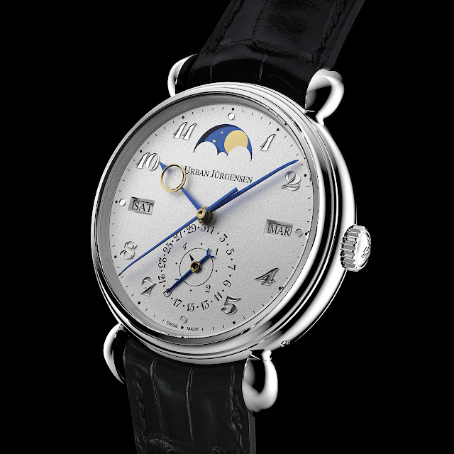 Urban Jürgensen Reference 1741 Platinum Hand-wound Mechanical Watch