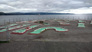 Crazy Golf at Dunoon. By Martin Evans September 2018