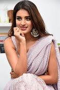 Nidhi Agarwal at Ismart Successmeet-thumbnail-6